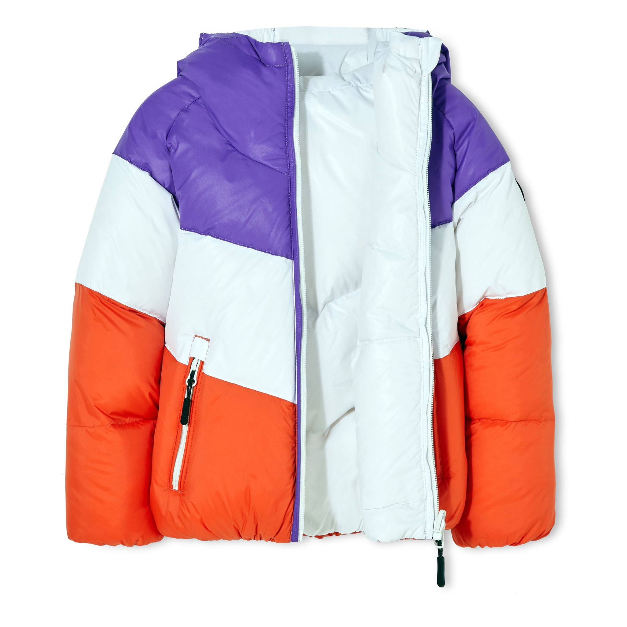 SNOWDANCE Off White - Reversible Down Jacket 2