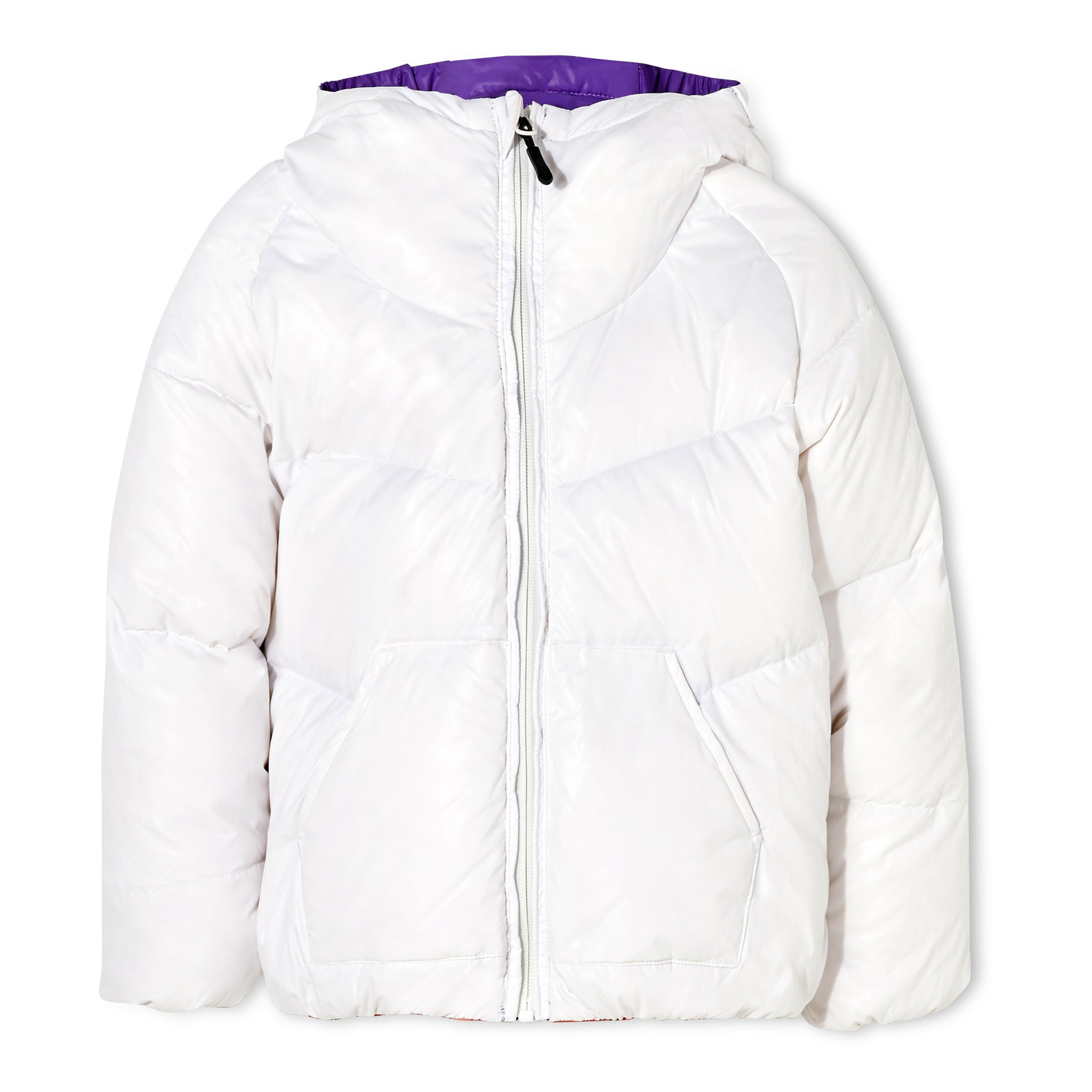 SNOWDANCE Off White - Reversible Down Jacket 4