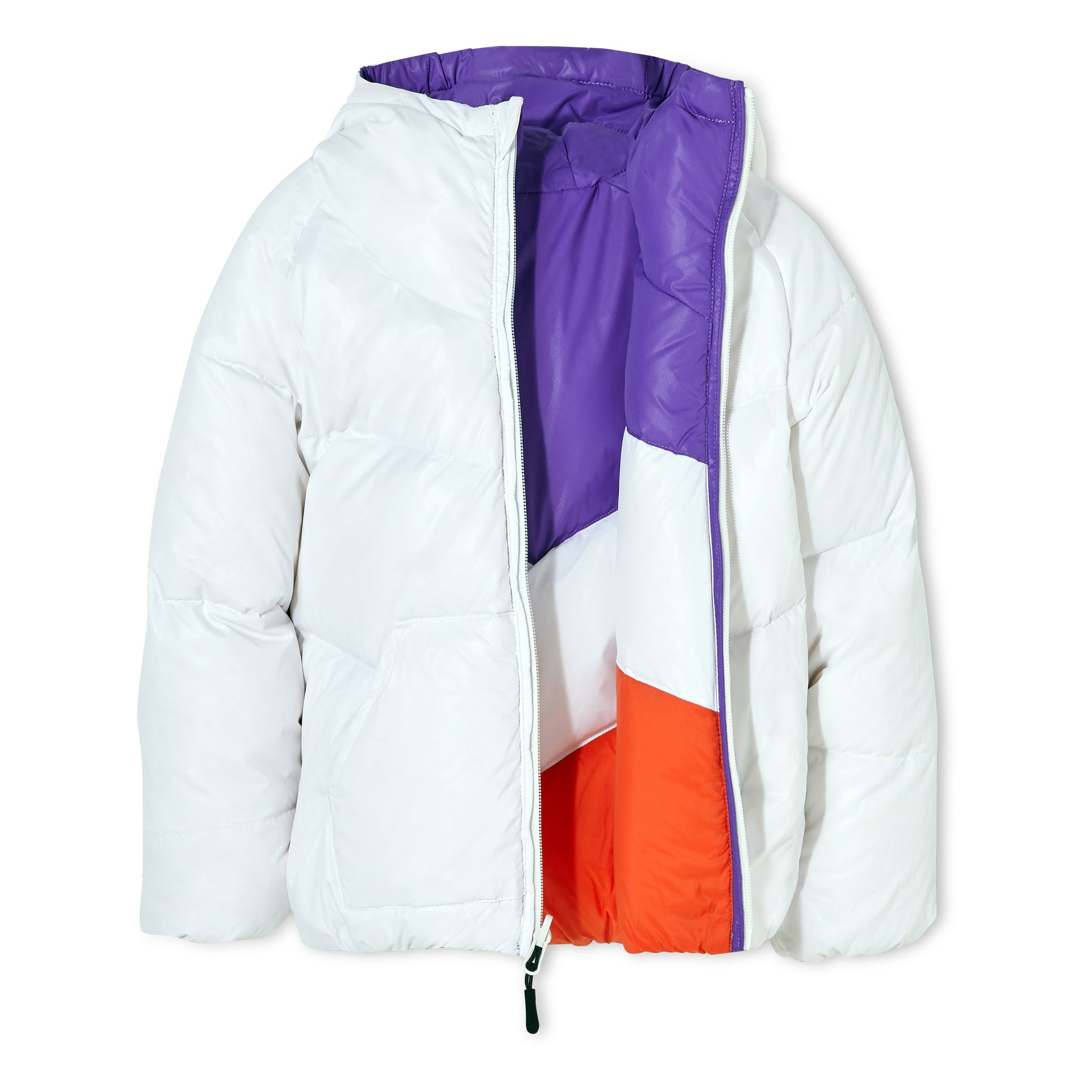 SNOWDANCE Off White - Reversible Down Jacket 5