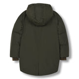 SNOWDOLL Khaki -Oversized Down Coat 2