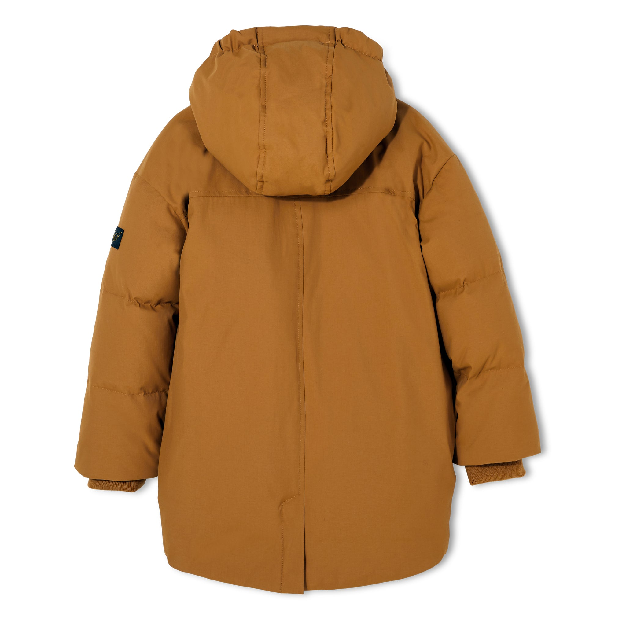 SNOWDOLL Walnut - Oversized Down Coat 3