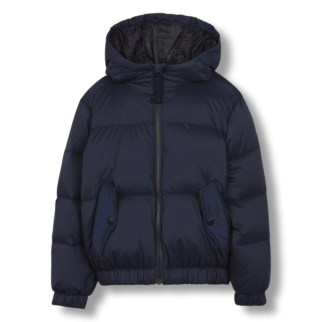SNOWDUST Sailor Blue - Down Bomber Jacket 1