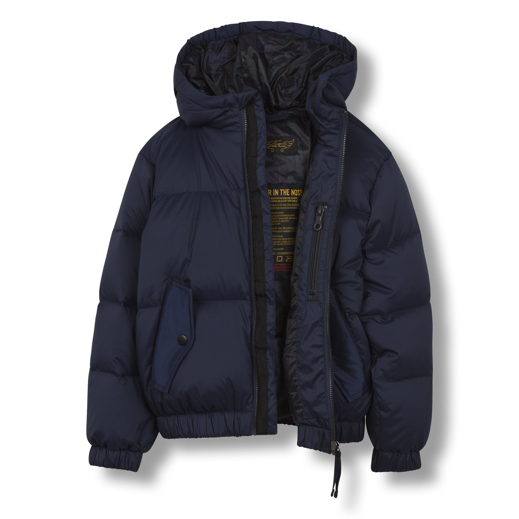 SNOWDUST Sailor Blue - Down Bomber Jacket 2