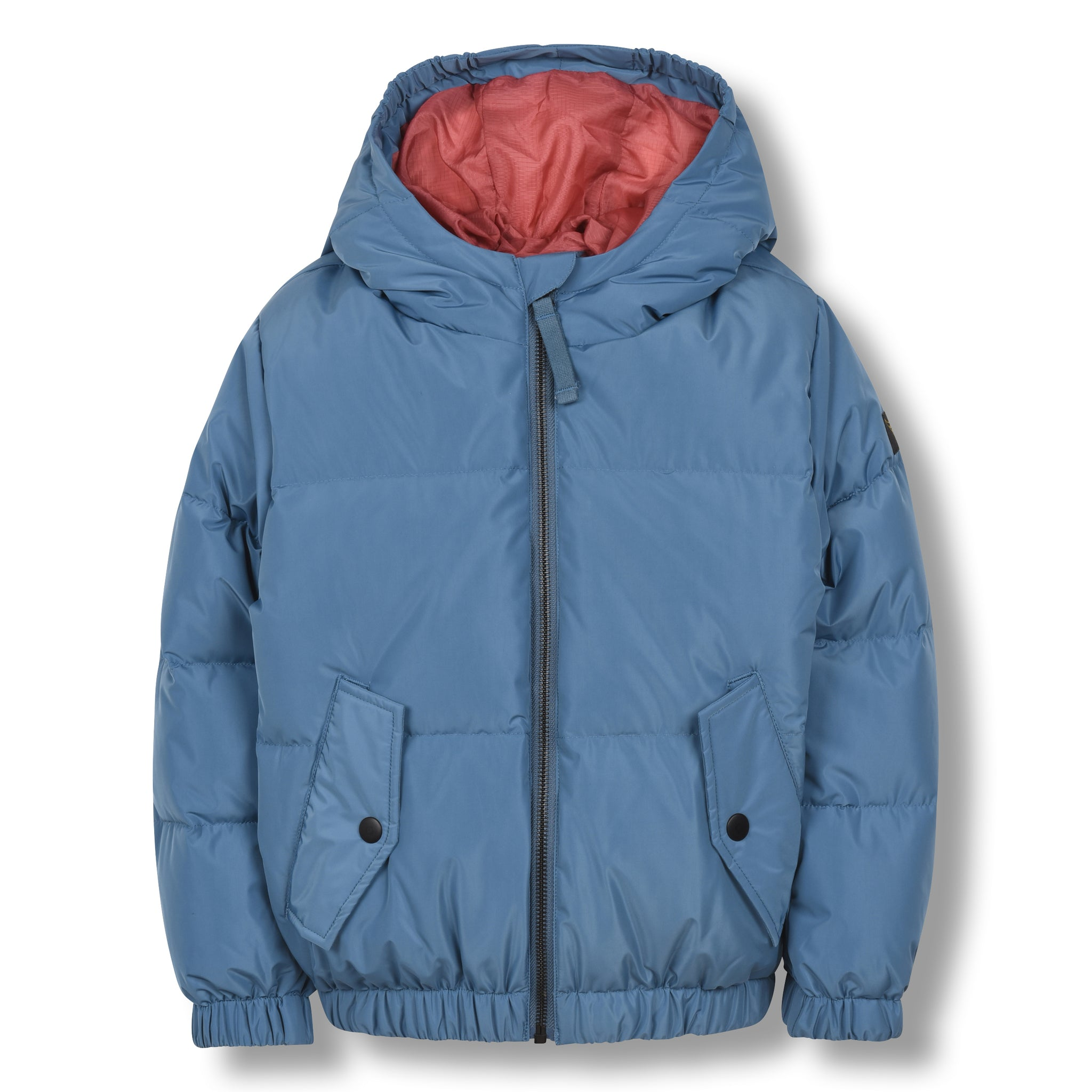 SNOWDUST Stone Blue - Down Bomber Jacket 1