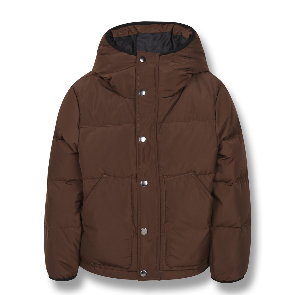 SNOWFLOW Brown - Straight Down Jacket 1