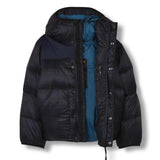 SNOWFLOW Navy Checker - Straight Down Jacket 2