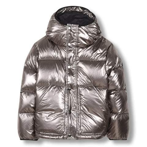 SNOWFLOW Silver - Straight Down Jacket 1