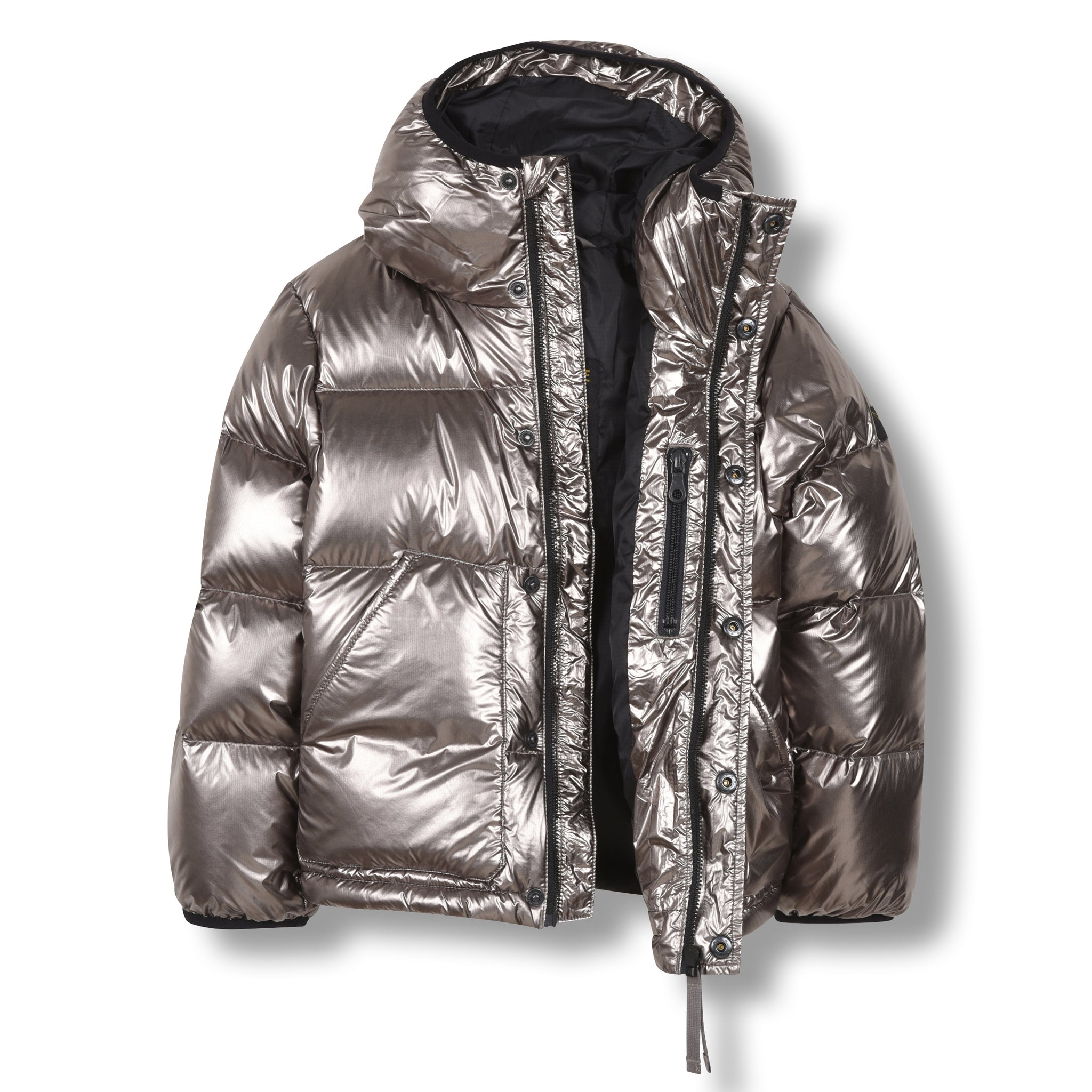 SNOWFLOW Silver - Straight Down Jacket 3