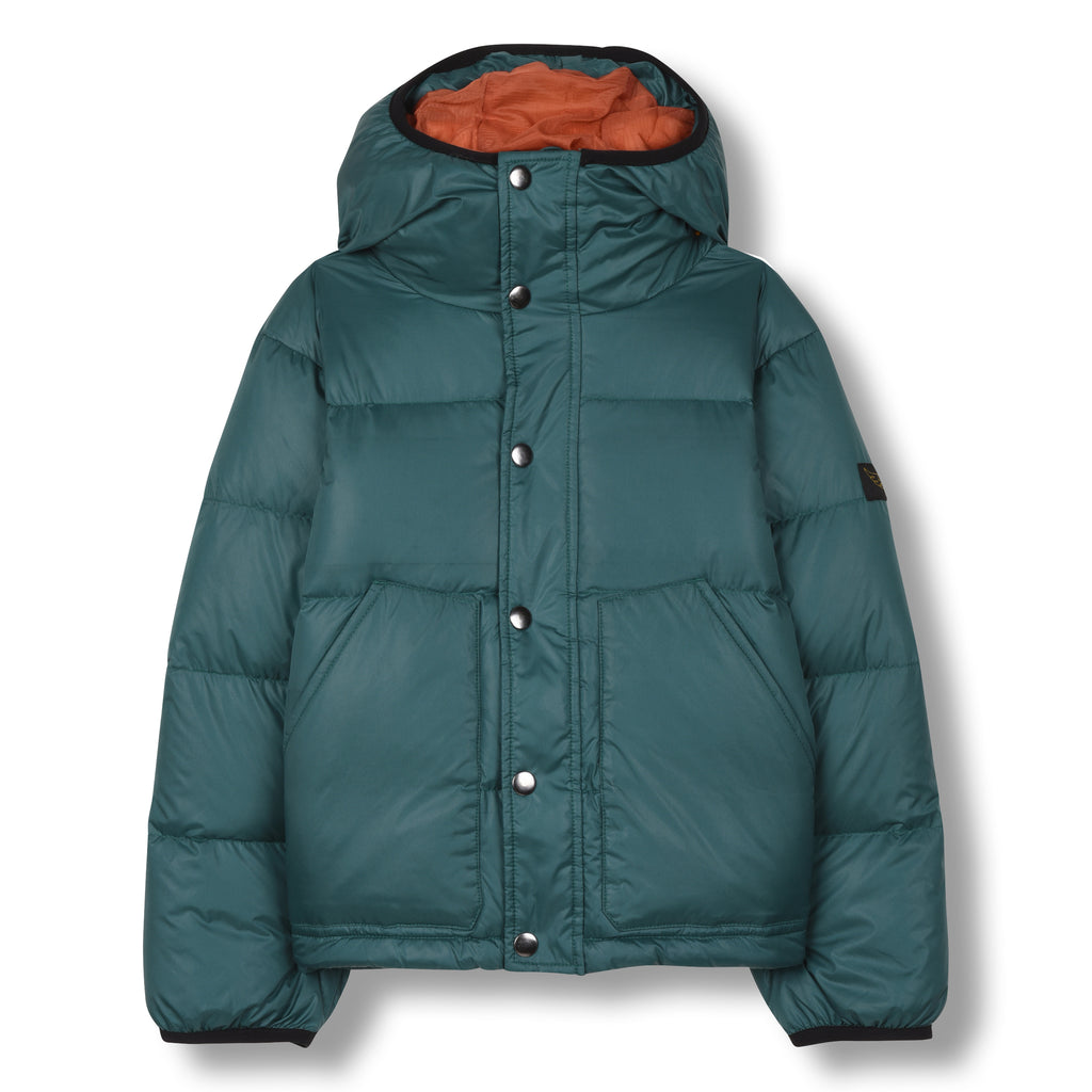 SNOWFLOW University Green - Straight Down Jacket 1