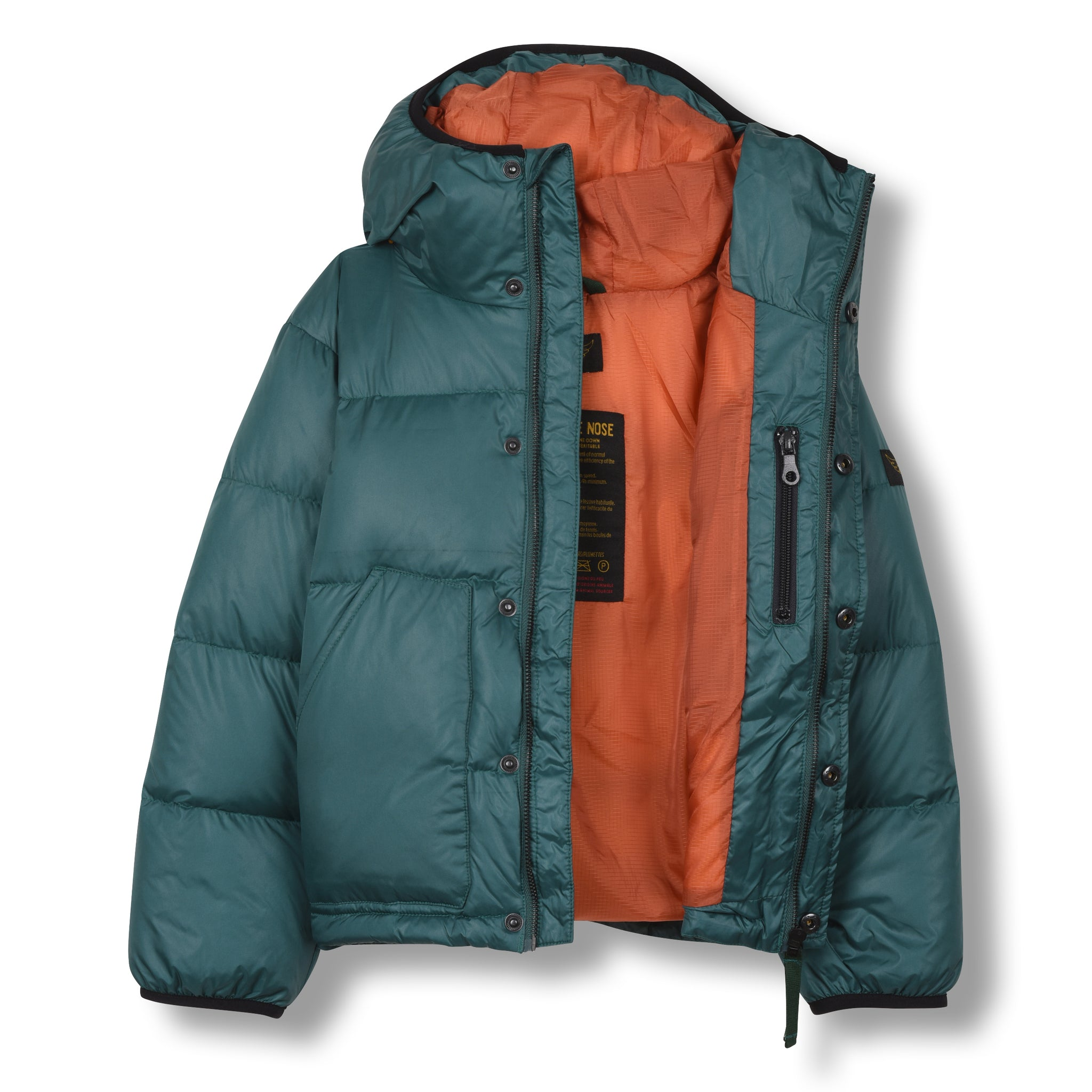 SNOWFLOW University Green - Straight Down Jacket 2
