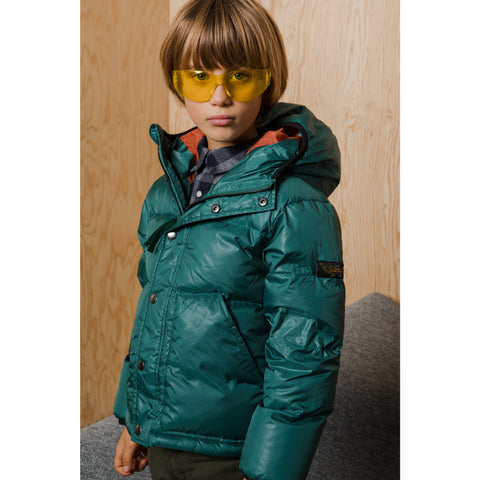 SNOWFLOW University Green - Straight Down Jacket