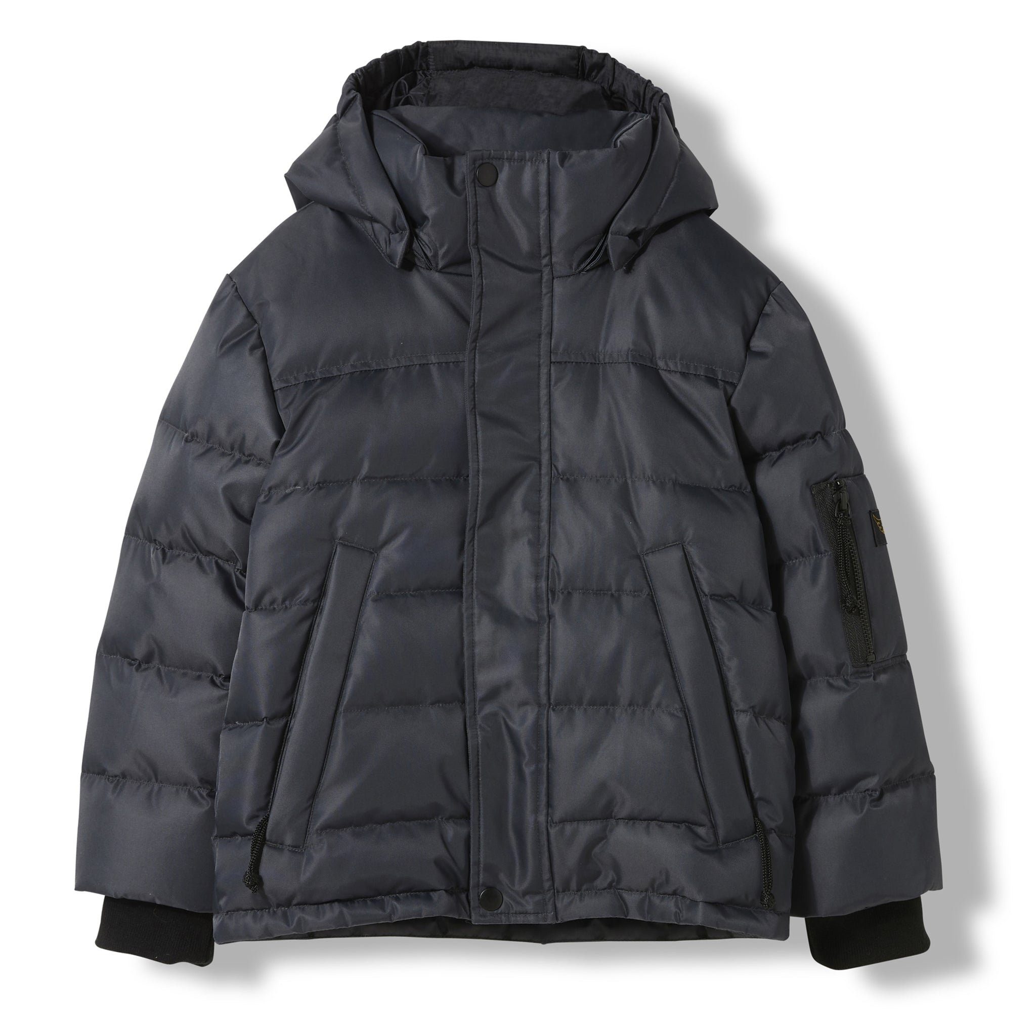 SNOWLYNX Ash Black -  Woven Down Jacket 1