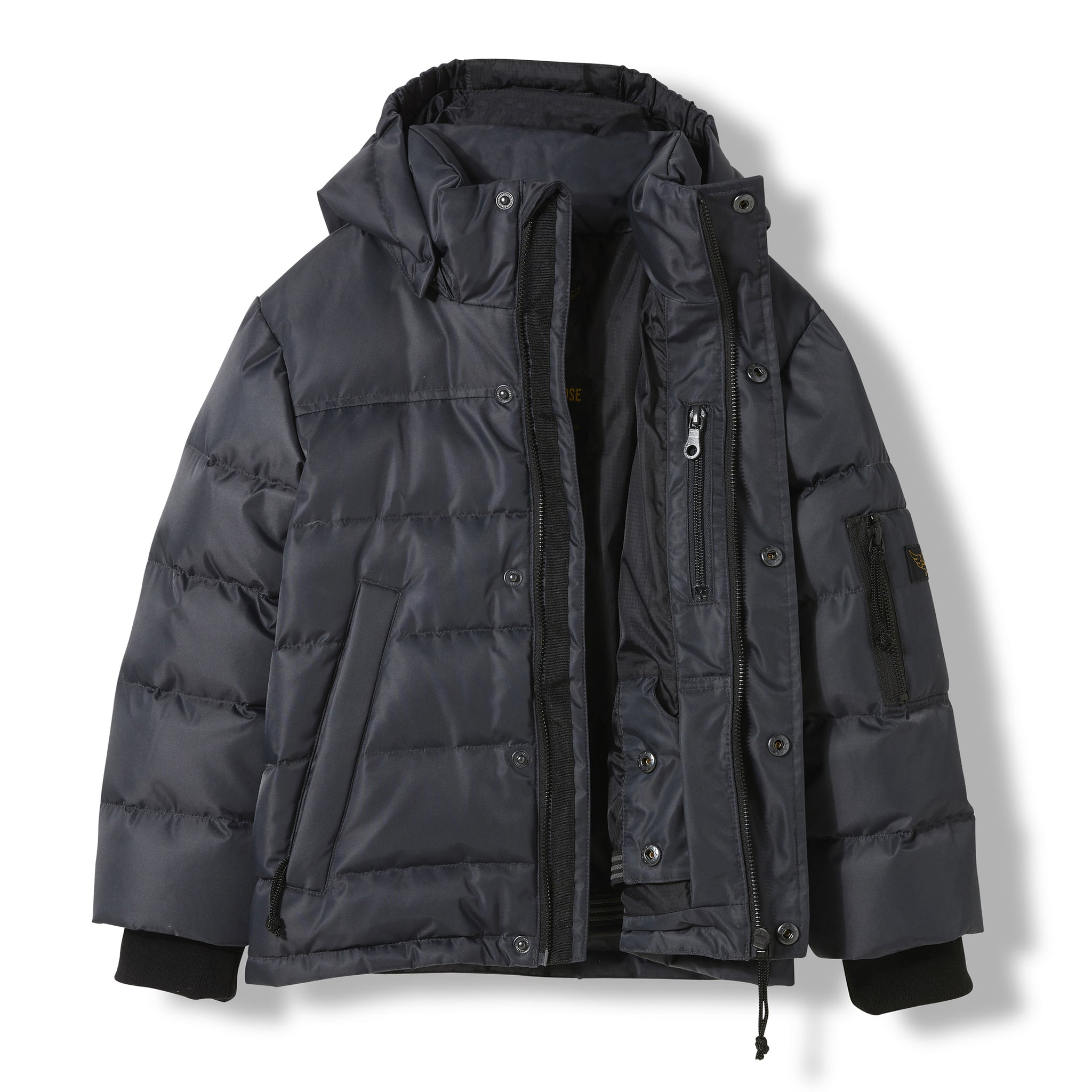 SNOWLYNX Ash Black -  Woven Down Jacket 2