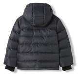 SNOWLYNX Ash Black -  Woven Down Jacket 5