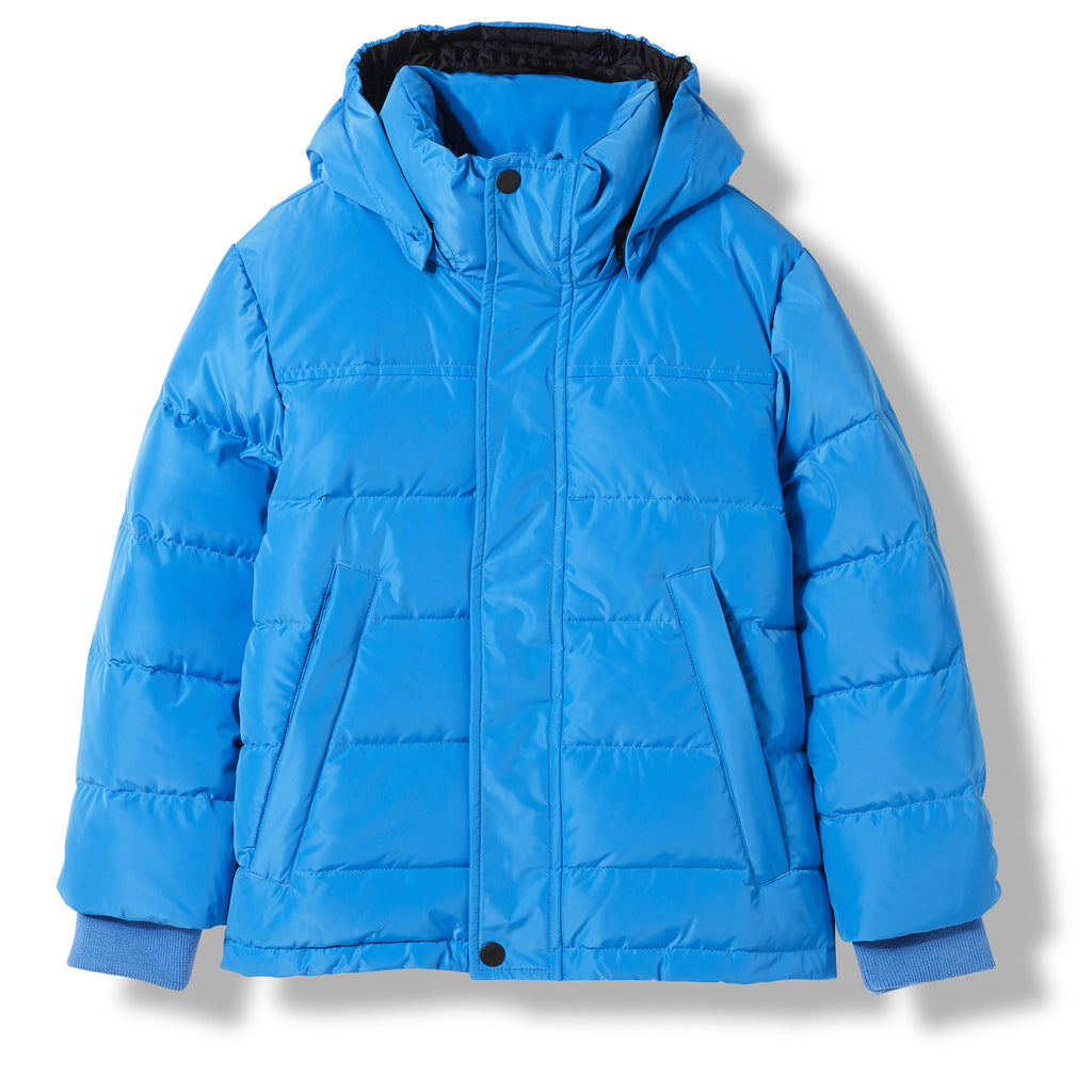 SNOWLYNX Pop Blue -  Woven Down Jacket 1