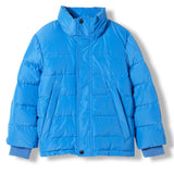 SNOWLYNX Pop Blue -  Woven Down Jacket 4