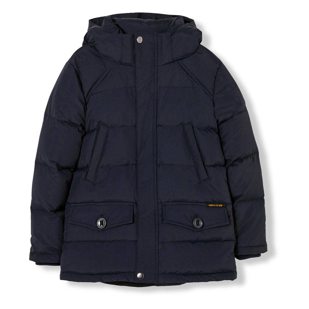 SNOWMOOSE Navy - Down Parka