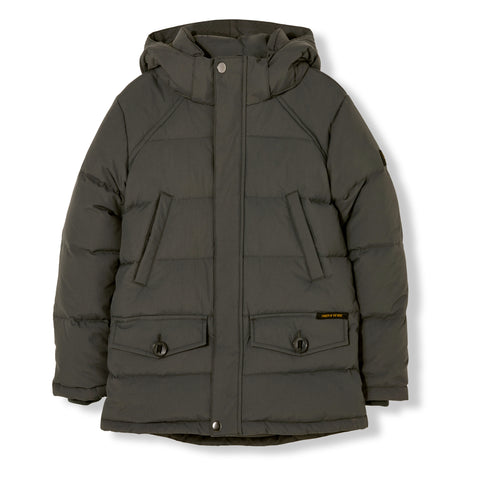 SNOWMOOSE Ash Black - Down Parka 1