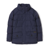 SNOWMOOSE Navy - Down Parka with Real Fur Hood