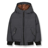 SNOWMOVE Ash Black - Bomber Down Jacket 1