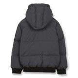 SNOWMOVE Ash Black - Bomber Down Jacket 3