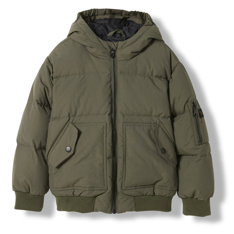 SNOWMOVE City Khaki -  Woven Down Jacket 1
