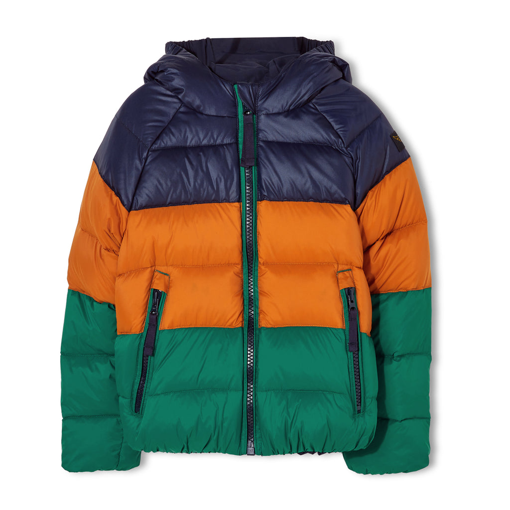 SNOWSCOUT Navy - Reversible Down Jacket