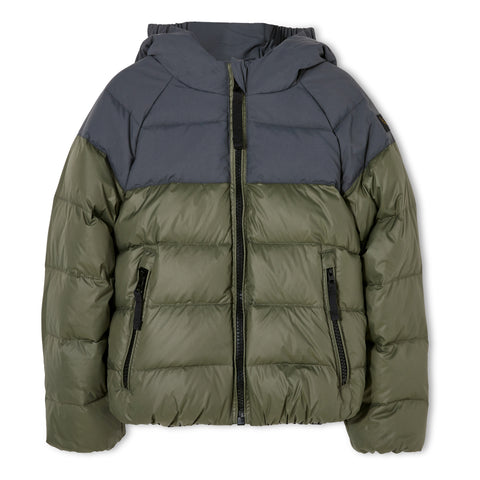 SNOWSCOUT Ash Black - Reversible Down Jacket 1