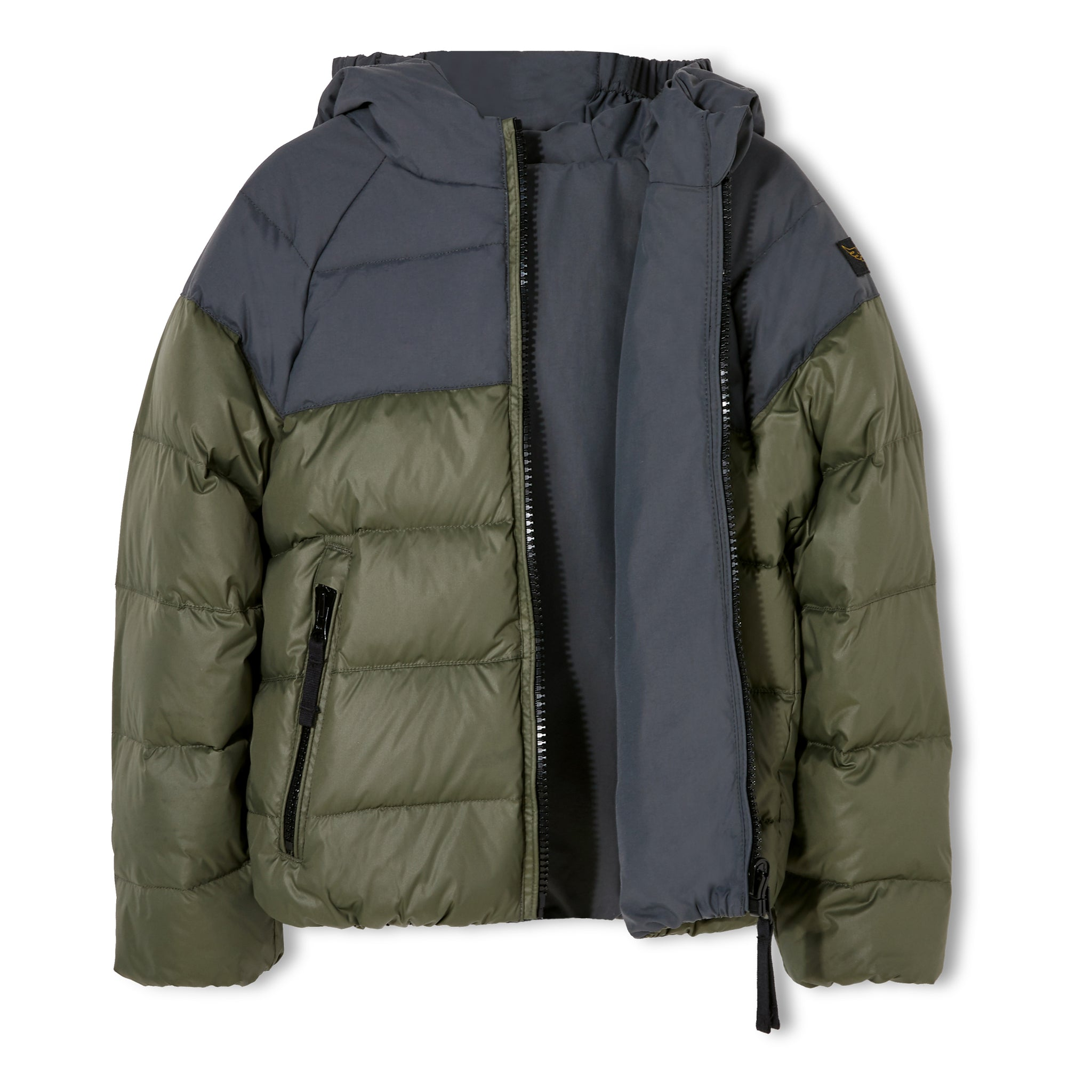 SNOWSCOUT Ash Black - Reversible Down Jacket 2