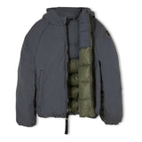 SNOWSCOUT Ash Black - Reversible Down Jacket 5