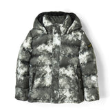 SNOWSLOPE Grey Tie & Dye - Down Jacket