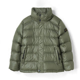 SNOWSLOPE PREMIUM City Khaki - Down Jacket with Real Fur Hood