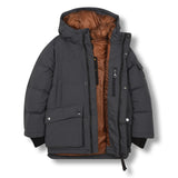 SNOWTOWN Ash Black - Down Parka