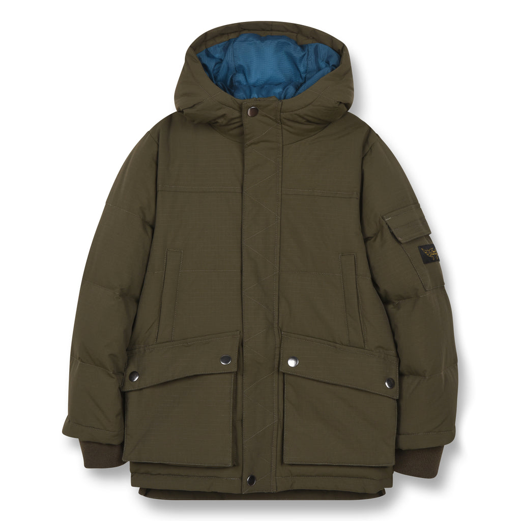 SNOWTOWN Khaki - Down Parka 1