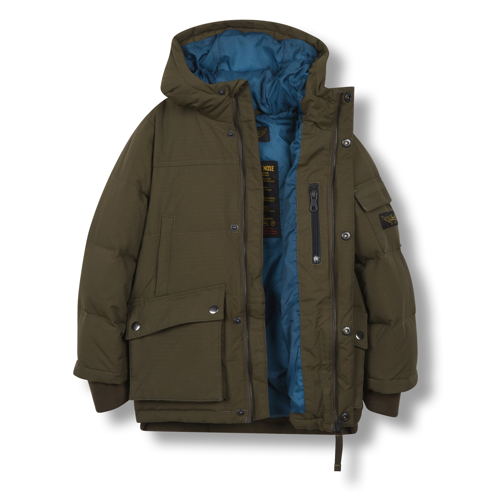 SNOWTOWN Khaki - Down Parka 3