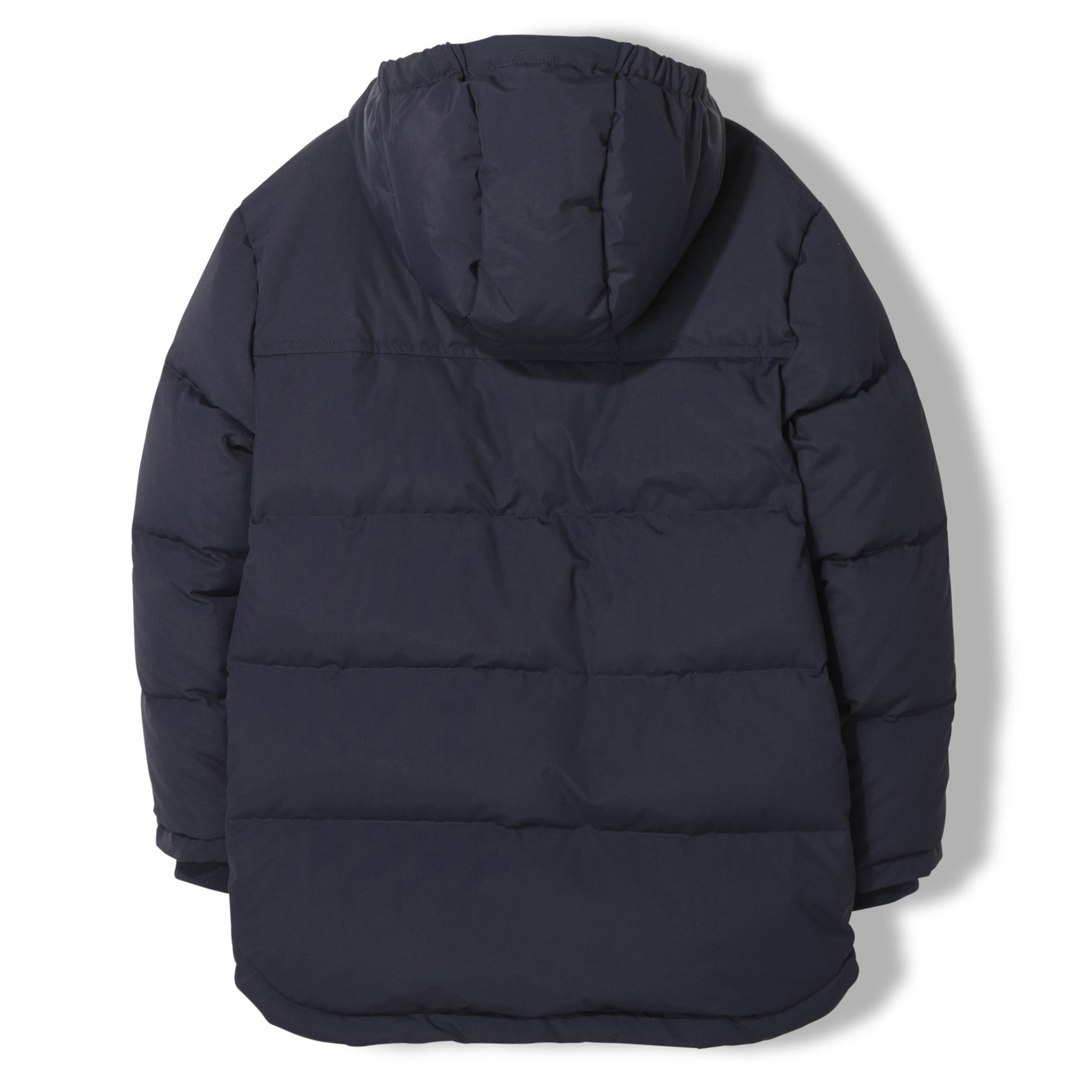 SNOWTOWN Navy -  Woven Down Parka 2