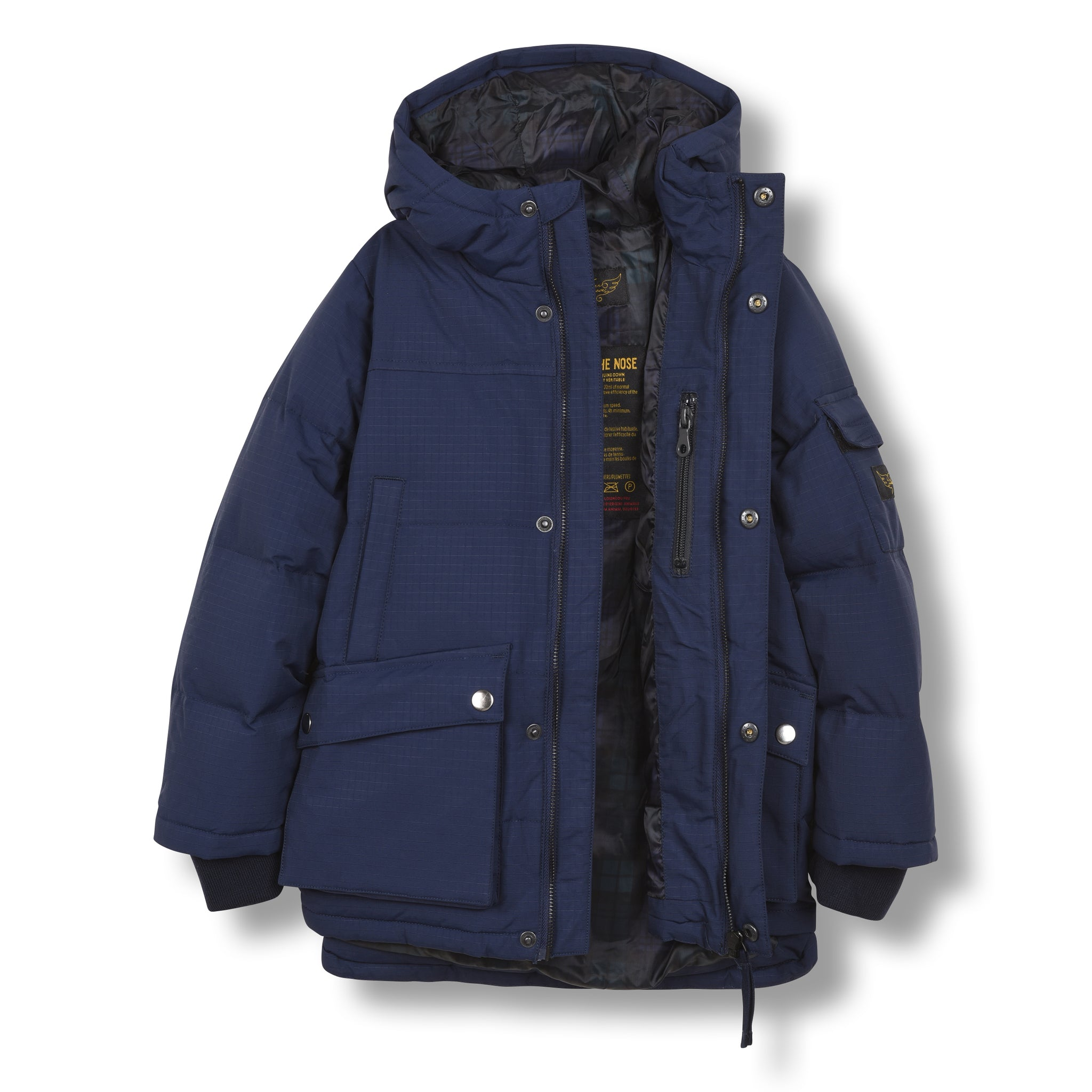 SNOWTOWN Sailor Blue - Down Parka 2