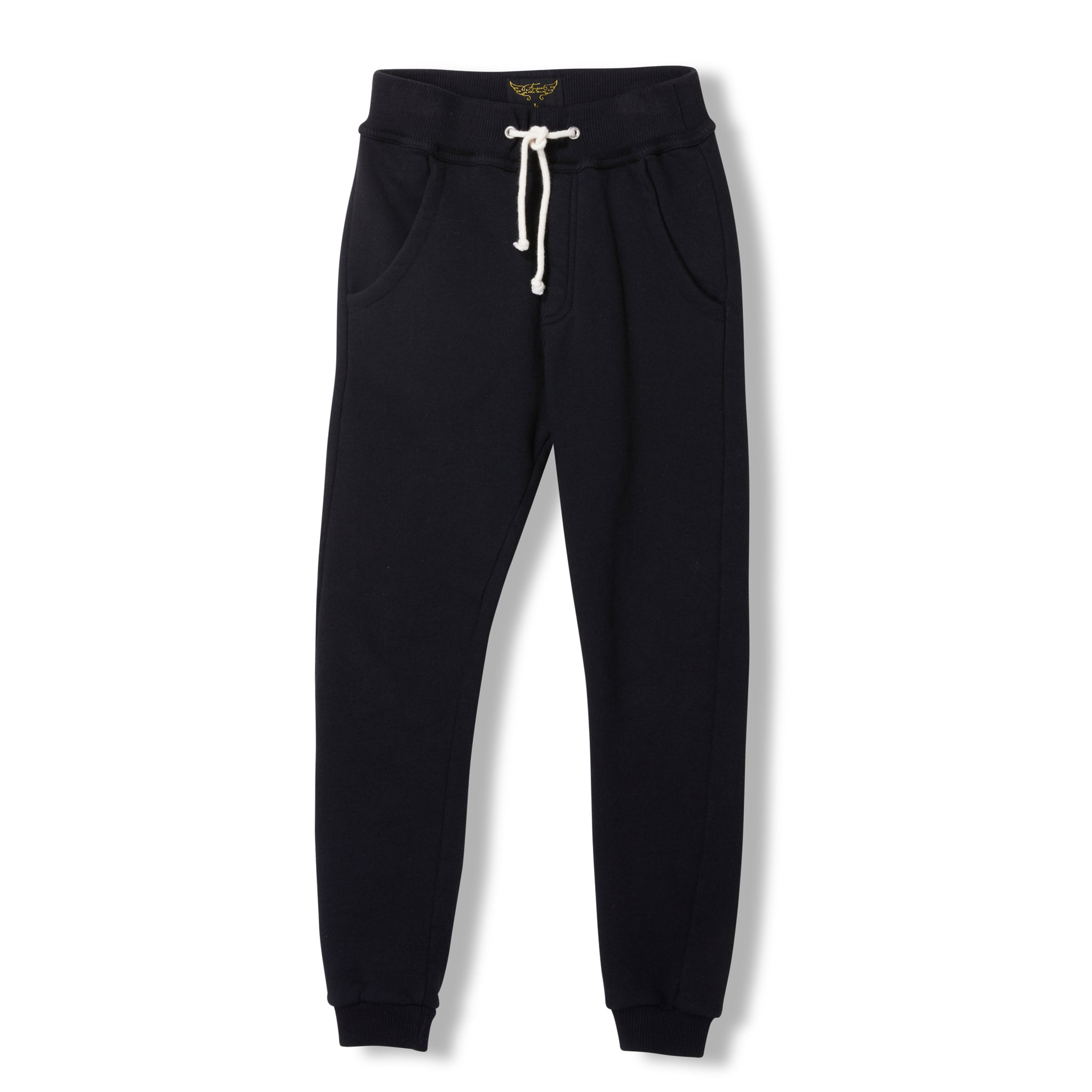 SPRINT Black -  Knitted Fleece Jogging Pant 1