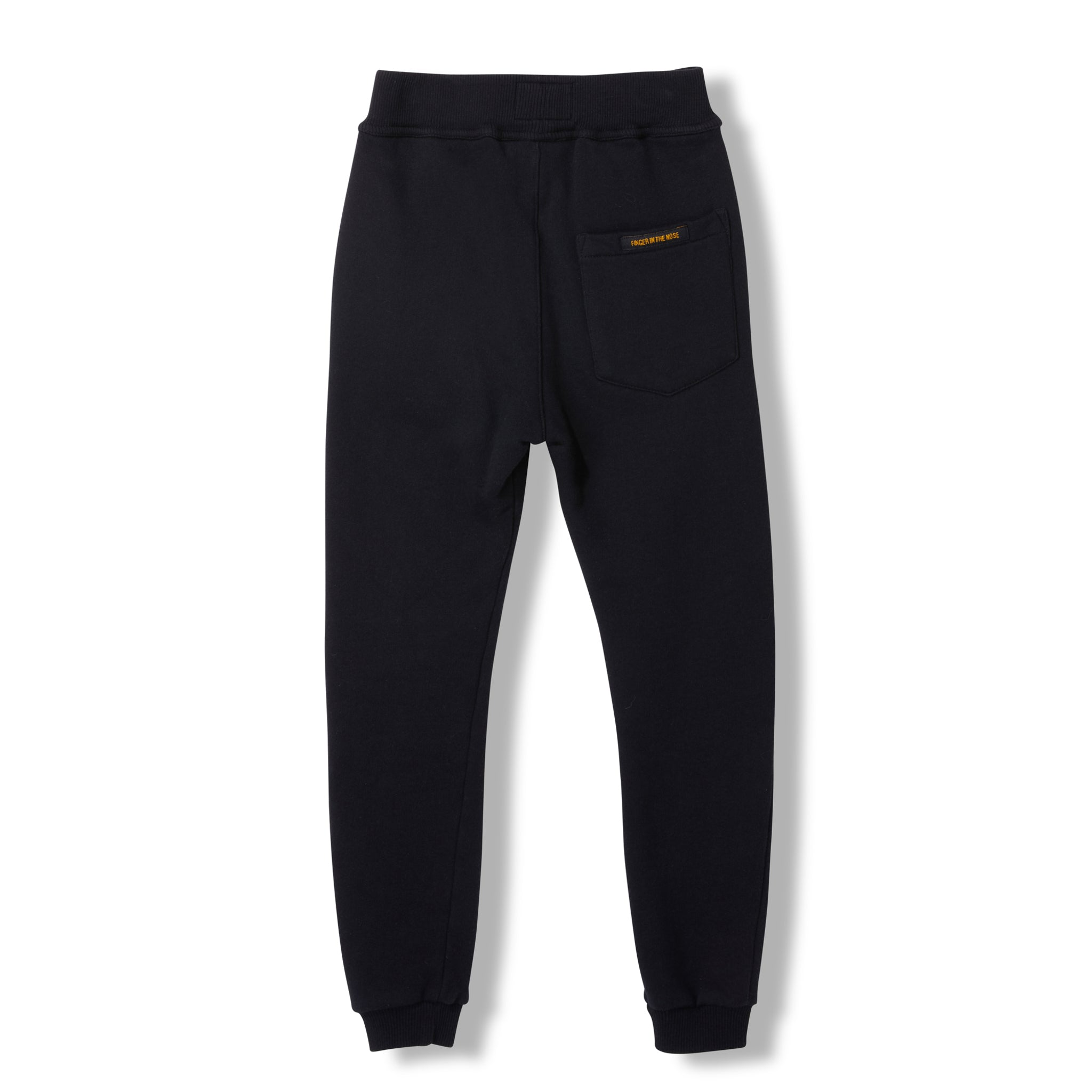 SPRINT Black -  Knitted Fleece Jogging Pant 2