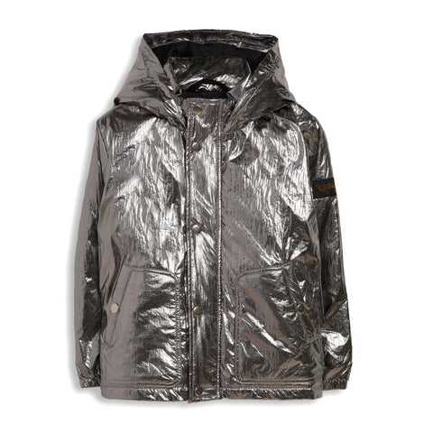 STAN Silver - Hooded Jacket