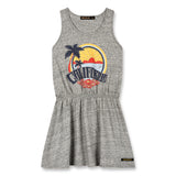 SUMMER Heather Grey California - Sleeveless Dress 1