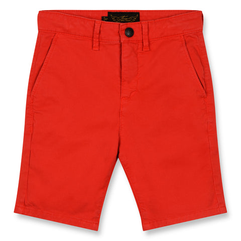 SURFER Poppy Red - Chino Fit Bermuda Shorts 1