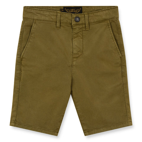SURFER Warm Khaki - Chino Fit Bermuda Shorts 1