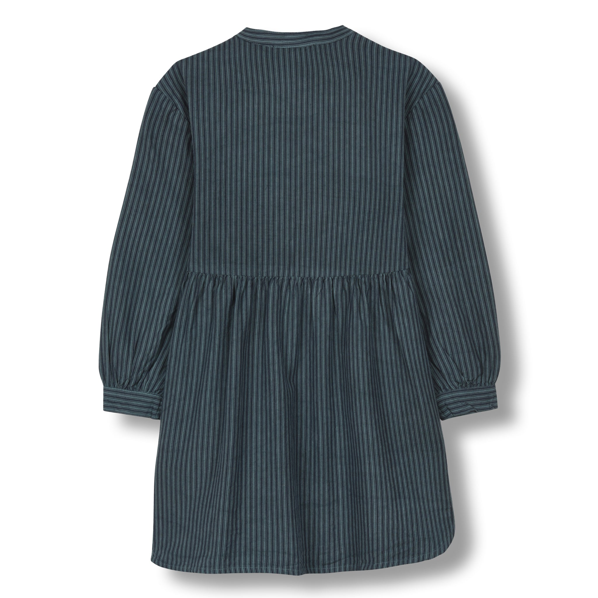 SWAY Dark Blue Stripes - Long Sleeves Dress 2