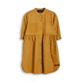 SWING Caramel - Short Sleevess Shirt Dress 1
