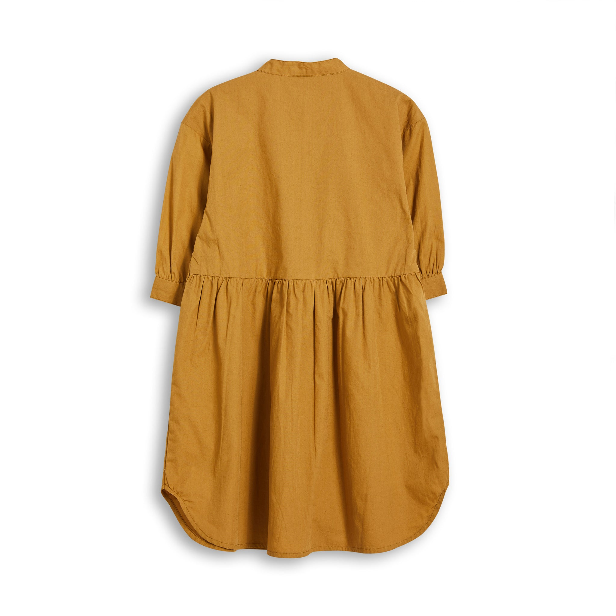 SWING Caramel - Short Sleevess Shirt Dress 2