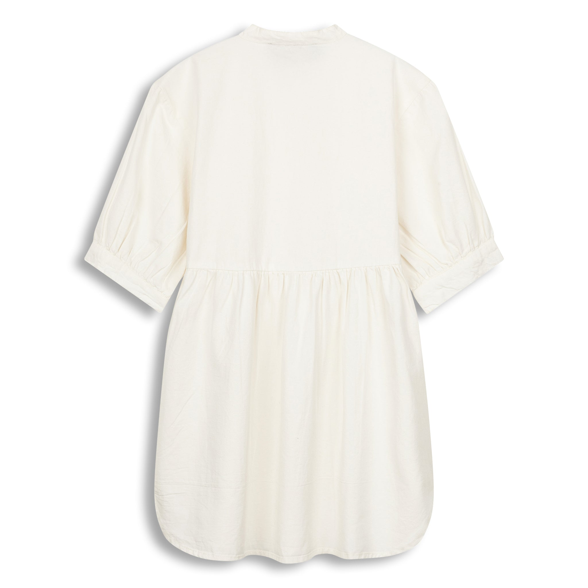 SWING White - Short Sleeve Oversized Dress 3