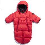 SNOWBIRD Holly Red - Unisex Down Baby Warmer
