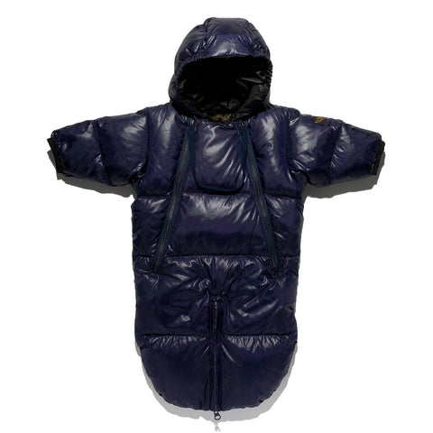 SNOWBIRD Dark Navy -  Down Baby Warmer