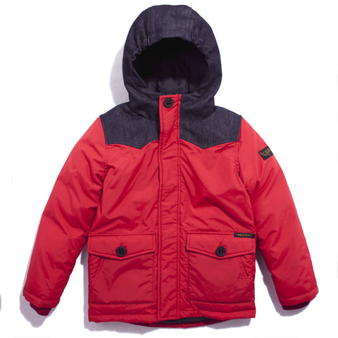 SNOWPEAK Holly Red - Down Jacket